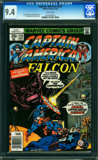 Captain America #219 (Marvel, 1978) CGC NM 9.4 WHITE pages