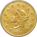 Territorial Gold , 1855 $50 Wass Molitor Fifty Dollar -- Repaired -- PCGS Genuine. AU Details. K-9, R.5....