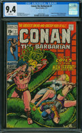 Bronze Age (1970-1979):Adventure, Conan the Barbarian #7 (Marvel, 1971) CGC NM 9.4 WHITE pages.