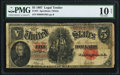 Large Size:Legal Tender Notes, Fr. 91 $5 1907 Legal Tender PMG Very Good 10 Net.. ...