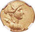 Ancients:Roman Republic, Ancients: Octavian, Sole Imperator (30-27 BC). AV aureus (21mm, 7.90 gm, 6h). NGC Choice XF 5/5 - 3/5....