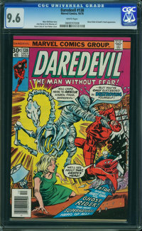 Daredevil #138 (Marvel, 1976) CGC NM+ 9.6 WHITE pages