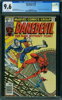 Daredevil #161 (Marvel, 1979) CGC NM+ 9.6 WHITE pages