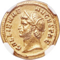 Ancients:Roman Imperial, Ancients: Gallienus (AD 253-268). AV aureus (21mm, 6.07 gm, 7h). NGC Choice XF 5/5 - 3/5....
