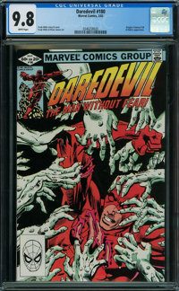 Daredevil #180 (Marvel, 1982) CGC NM/MT 9.8 WHITE pages
