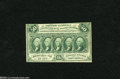 Fractional Currency:First Issue, Fr. 1312 50c First Issue About New. But for some light glue remnants and a cornerfold this first issue note would achieve th...