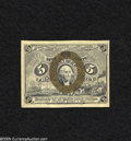 Fractional Currency:Second Issue, Fr. 1232 5c Second Issue Choice New+. A very well margined example of this popular second issue type which has a couple of v...