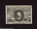 """Fractional Currency:Second Issue, Fr. 1322 50c Second Issue New. A very nice example of this scarcer fiber paper variety with surcharges """"T-1-18-63"""" on the ba..."""