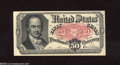 Fractional Currency:Fifth Issue, Fr. 1381 50c Fifth Issue Choice About New. A light vertical fold is all that separates this Crawford note from the Gem New g...