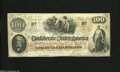 Confederate Notes:1862 Issues, T41 $100 1862. Sound edges encircle this C-note. Fine....