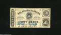 Obsoletes By State:Alabama, Montgomery, AL- State of Alabama 50¢ Jan. 1, 1863 This note is from the 2nd Series. Fine....