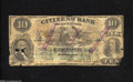 Obsoletes By State:Louisiana, Counterfeit New Orleans, LA- Citizen's Bank of Louisiana $10 Dec. 1, 1859 This is a scarce counterfeit that we have not off...