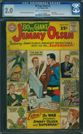 Silver Age (1956-1969):Superhero, 80 Page Giant 2 Jimmy Olsen (DC, 1964) CGC GD 2.0 CREAM TOOFF-WHITE pages.