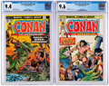 Bronze Age (1970-1979):Adventure, Conan the Barbarian #52 and 60 CGC-Graded Group (Marvel, 1975-76).... (Total: 2 Comic Books)