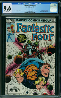 Fantastic Four #253 (Marvel, 1983) CGC NM+ 9.6 WHITE pages