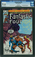 Modern Age (1980-Present):Superhero, Fantastic Four #255 (Marvel, 1983) CGC NM+ 9.6 WHITE pages.