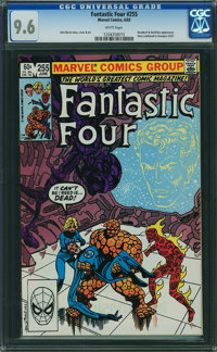 Fantastic Four #255 (Marvel, 1983) CGC NM+ 9.6 WHITE pages