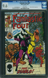 Fantastic Four #307 (Marvel, 1987) CGC NM+ 9.6 WHITE pages