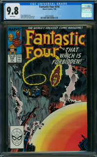 Fantastic Four #316 (Marvel) CGC NM/MT 9.8 WHITE pages