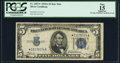 Small Size:Silver Certificates, Fr. 1651* $5 1934A Silver Certificate Star. PCGS Apparent Fine 15.. ...
