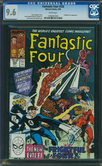 Fantastic Four #326 (Marvel, 1989) CGC NM+ 9.6 WHITE pages