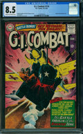 Silver Age (1956-1969):War, G.I. Combat #114 (DC, 1965) CGC VF+ 8.5 CREAM TO OFF-WHITE pages.