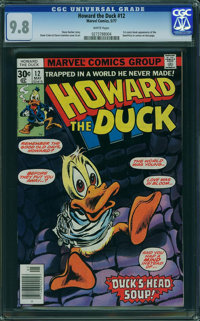 Howard the Duck #12 (Marvel, 1977) CGC NM/MT 9.8 WHITE pages
