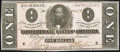 Confederate Notes:1864 Issues, T71 $1 1864 PF-9 Cr. 573 Crisp Uncirculated.. ...