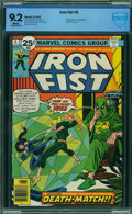 Bronze Age (1970-1979):Superhero, Iron Fist #6 - CBCS CERTIFIED (Marvel, 1976) CGC NM- 9.2 White pages.