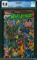 Modern Age (1980-Present):Science Fiction, Mars Attacks (comic first series) #1 (Topps Comics, 1994) CGC NM/MT 9.8 WHITE pages.