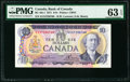 Canadian Currency, BC-49c-i $10 1971 PMG Choice Uncirculated 63 EPQ.. ...