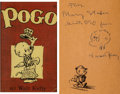 Original Comic Art:Sketches, Walt Kelly Pogo Sketch Original Art (Simon & Schuster, 1951)....