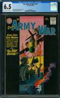 Silver Age (1956-1969):War, Our Army at War #134 (DC, 1963) CGC FN+ 6.5 OFF-WHITE TO WHITE pages.