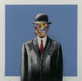 Prints & Multiples, Martin Whatson (Norwegian, b. 1984). Son of Man (Lilac), 2017. Screenprint in colors on wove paper. 12 x 12 inches (30.5...
