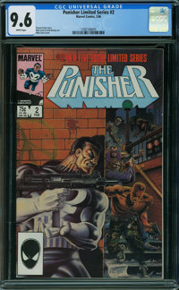 Punisher #2 (Marvel, 1986) CGC NM+ 9.6 WHITE pages