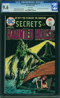 Secrets of Haunted House #1 (DC, 1975) CGC NM+ 9.6 WHITE pages
