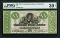 Confederate Notes:1861 Issues, T21 $20 PF-3 Cr. 145 PMG Very Fine 30 Net.. ...