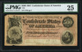 Confederate Notes:1864 Issues, T64 $500 1864 PF-1 Cr. 489A PMG Very Fine 25.. ...