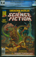 Magazines:Science-Fiction, Unknown Worlds of Science Fiction Special #1 (Marvel, 1976) CGC NM 9.4 Off-white pages.