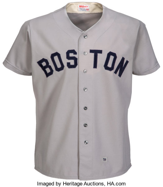 timeless design e2630 1c010 1979 Carlton Fisk Game Worn Boston Red Sox Jersey ...
