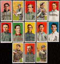 Baseball Cards:Lots, 1909-11 T206 White Border Baseball Collection (13). ...