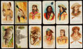 """Non-Sport Cards:Lots, 1880's """"N"""" """"T"""" Tobacco and """"E"""" Caramel Card Collection (210+). ..."""