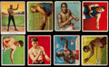 Olympic Cards:General, T218 Mecca Cigarette Collection (73), T220 (7), T51 Murad CollegeTeams (18) with 2 Jack Johnson's. ...