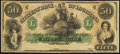 Obsoletes By State:Louisiana, New Orleans, LA- Citizens' Bank of Louisiana $50 18__ Remainder Crisp Uncirculated.. ...