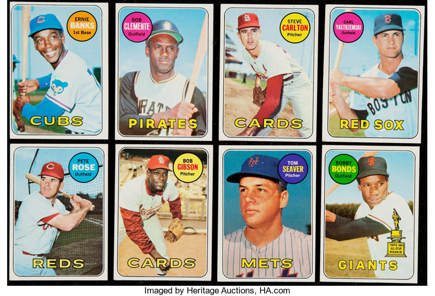 1969 Topps Baseball Collection 39 With Stars Hofers Lot