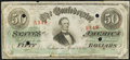 Confederate Notes:1863 Issues, T57 $50 1863 PF-6 Cr. 411 Very Good.. ...