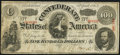 Confederate Notes:1863 Issues, T56 $100 1863 PF-1 Cr. 403 Very Good. The note...