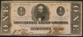 Confederate Notes:1863 Issues, T62 $1 1863 PF-1 Cr. 474 About Uncirculated.. ...