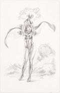 Original Comic Art:Illustrations, Ray Lago - Scarlet Witch Illustration Original Art (undated)....