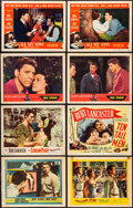"Movie Posters:Drama, All My Sons & Others Lot (Universal International, 1948). VeryFine-. Lobby Cards (8) (11"" X 14"") & Ad Sheet (10"" X 14"").Dr... (Total: 9 Items)"